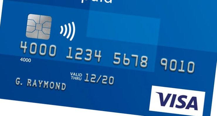 carta visa prepagata blu