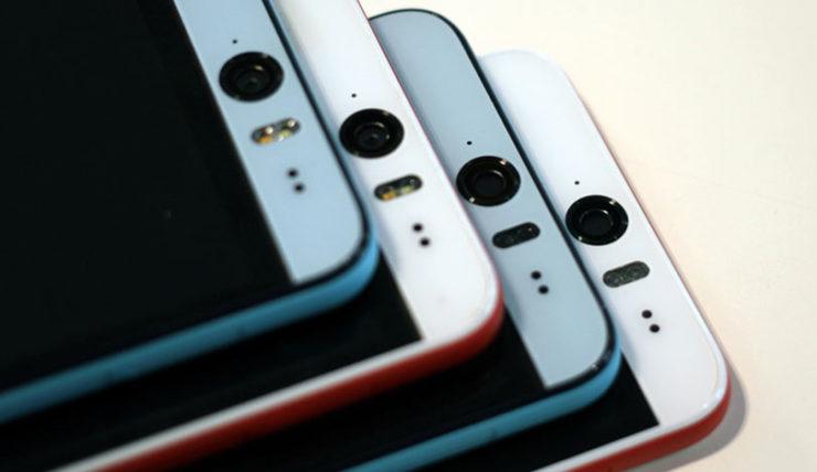smartphone htc in fila