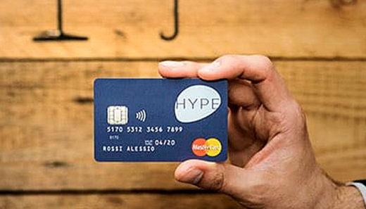 carta hype mastercard